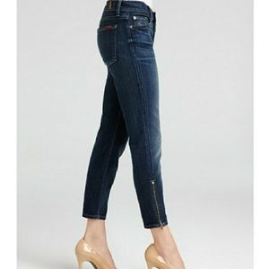 7 for all Mankind Cropped Skinny Jeans 24